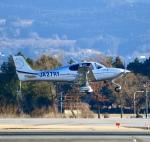 ザキヤマさんが、熊本空港で撮影した日本法人所有 SR22T GTSの航空フォト(写真)