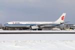 北の熊さんが、新千歳空港で撮影した中国国際航空 A330-343Xの航空フォト(飛行機 写真・画像)