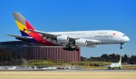 kamerajiijiさんが、成田国際空港で撮影したアシアナ航空 A380-841の航空フォト(写真)