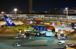 リリココさんが、中部国際空港で撮影した全日空 777-281/ERの航空フォト(飛行機 写真・画像)