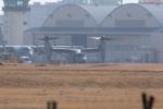 バイクオヤジさんが、厚木飛行場で撮影したアメリカ海兵隊 MV-22Bの航空フォト(写真)
