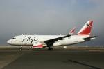 スポット110さんが、羽田空港で撮影した中国企業所有 A319-115CJの航空フォト(写真)