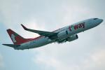 apphgさんが、那覇空港で撮影したティーウェイ航空 737-8Q8の航空フォト(写真)