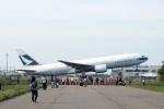DYNASTYさんが、台湾桃園国際空港で撮影したキャセイパシフィック航空 777-267の航空フォト(写真)