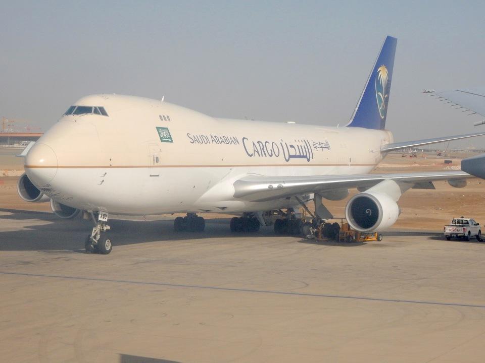 cornicheさんのサウディア Boeing 747-400 (TF-AMU) 航空フォト