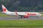 Ariesさんが、シンガポール・チャンギ国際空港で撮影したタイ・ライオン・エア 737-8GPの航空フォト(写真)