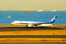 まいけるさんが、羽田空港で撮影した全日空 767-381の航空フォト(写真)