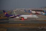 simokさんが、関西国際空港で撮影したタイ国際航空 A350-941XWBの航空フォト(写真)