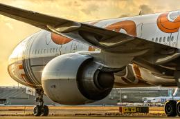 SGR RTさんが、羽田空港で撮影した全日空 777-381/ERの航空フォト(飛行機 写真・画像)