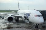 panchiさんが、ワルシャワ・フレデリック・ショパン空港で撮影したLOTポーランド航空 787-8 Dreamlinerの航空フォト(写真)