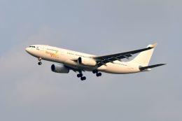 まいけるさんが、スワンナプーム国際空港で撮影したアイ-フライ A330-243の航空フォト(写真)