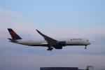 m_aereo_iさんが、成田国際空港で撮影したデルタ航空 A350-941XWBの航空フォト(写真)