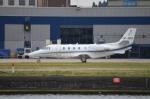 IL-18さんが、ロンドン・シティ空港で撮影した不明 560XL Citation XLS+の航空フォト(写真)