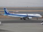 Jyu--さんが、羽田空港で撮影した全日空 A321-272Nの航空フォト(写真)