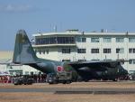 ユターさんが、芦屋基地で撮影した航空自衛隊 C-130H Herculesの航空フォト(写真)