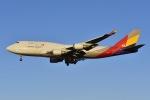 よしポンさんが、成田国際空港で撮影したアシアナ航空 747-48EM(BDSF)の航空フォト(写真)