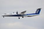 キイロイトリ1005fさんが、伊丹空港で撮影したANAウイングス DHC-8-402Q Dash 8の航空フォト(写真)