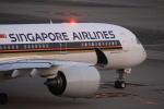 けいとパパさんが、羽田空港で撮影したシンガポール航空 A350-941XWBの航空フォト(写真)