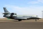 スポット110さんが、羽田空港で撮影したユーロフライ・サービス Falcon 7Xの航空フォト(写真)
