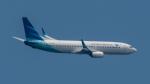 2wmさんが、シンガポール・チャンギ国際空港で撮影したガルーダ・インドネシア航空 737-8U3の航空フォト(写真)