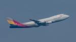 2wmさんが、シンガポール・チャンギ国際空港で撮影したアシアナ航空 747-48EF/SCDの航空フォト(写真)