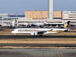 tsubasakunさんが、羽田空港で撮影したシンガポール航空 A350-941XWBの航空フォト(写真)
