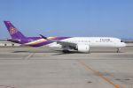 やまちゃんさんが、関西国際空港で撮影したタイ国際航空 A350-941XWBの航空フォト(写真)