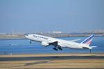 hazukiさんが、羽田空港で撮影したエールフランス航空 777-228/ERの航空フォト(写真)