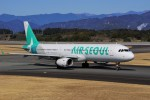 yoshibouさんが、静岡空港で撮影したエアソウル A321-231の航空フォト(写真)