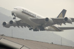 planetさんが、香港国際空港で撮影したシンガポール航空 A380-841の航空フォト(写真)