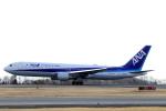 Lucky Manさんが、岡山空港で撮影した全日空 767-381/ERの航空フォト(写真)