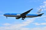 saoya_saodakeさんが、成田国際空港で撮影したKLMオランダ航空 777-206/ERの航空フォト(写真)