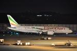 よしポンさんが、成田国際空港で撮影したエチオピア航空 787-8 Dreamlinerの航空フォト(写真)