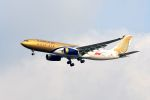 まいけるさんが、スワンナプーム国際空港で撮影したガルフ・エア A330-243の航空フォト(写真)