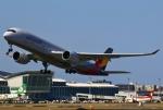 あしゅーさんが、福岡空港で撮影したアシアナ航空 A350-941の航空フォト(飛行機 写真・画像)