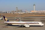 安芸あすかさんが、羽田空港で撮影したシンガポール航空 A350-941XWBの航空フォト(写真)