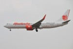 masa707さんが、クアラルンプール国際空港で撮影したマリンド・エア 737-8GPの航空フォト(写真)