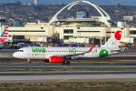 LAX Spotterさんが、ロサンゼルス国際空港で撮影したビバアエロバス A320-232の航空フォト(写真)