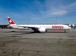 cornicheさんが、スワンナプーム国際空港で撮影したスイス航空 777-3DE/ERの航空フォト(飛行機 写真・画像)