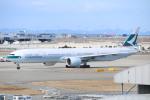 水月さんが、関西国際空港で撮影したキャセイパシフィック航空 777-367/ERの航空フォト(写真)