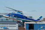 よっしぃさんが、東京ヘリポートで撮影した日本デジタル研究所(JDL) A109E Powerの航空フォト(写真)