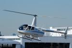 よっしぃさんが、東京ヘリポートで撮影した日本法人所有 R66 Turbineの航空フォト(写真)