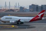 takaRJNSさんが、羽田空港で撮影したカンタス航空 747-438/ERの航空フォト(写真)