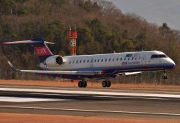 miffyさんが、広島空港で撮影したアイベックスエアラインズ CL-600-2C10 Regional Jet CRJ-702の航空フォト(写真)