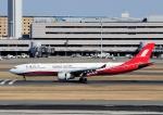 じーく。さんが、羽田空港で撮影した上海航空 A330-343Xの航空フォト(写真)