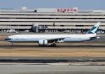 じーく。さんが、羽田空港で撮影したキャセイパシフィック航空 777-367/ERの航空フォト(飛行機 写真・画像)