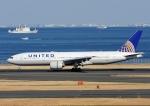 じーく。さんが、羽田空港で撮影したユナイテッド航空 777-222/ERの航空フォト(写真)