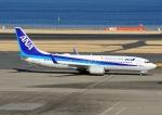 じーく。さんが、羽田空港で撮影した全日空 737-881の航空フォト(写真)
