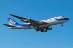 ぱん_くまさんが、成田国際空港で撮影した日本貨物航空 747-4KZF/SCDの航空フォト(写真)