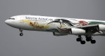 planetさんが、香港国際空港で撮影した南アフリカ航空 A340-313Xの航空フォト(写真)